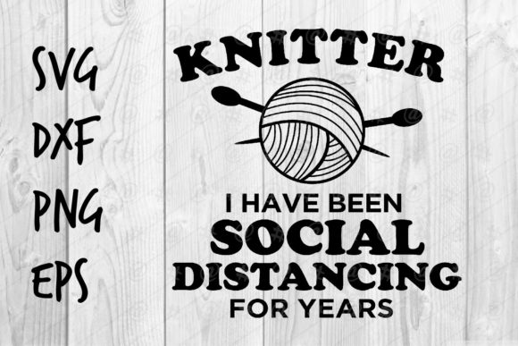 Knitter for Years Graphic Crafts By spoonyprint