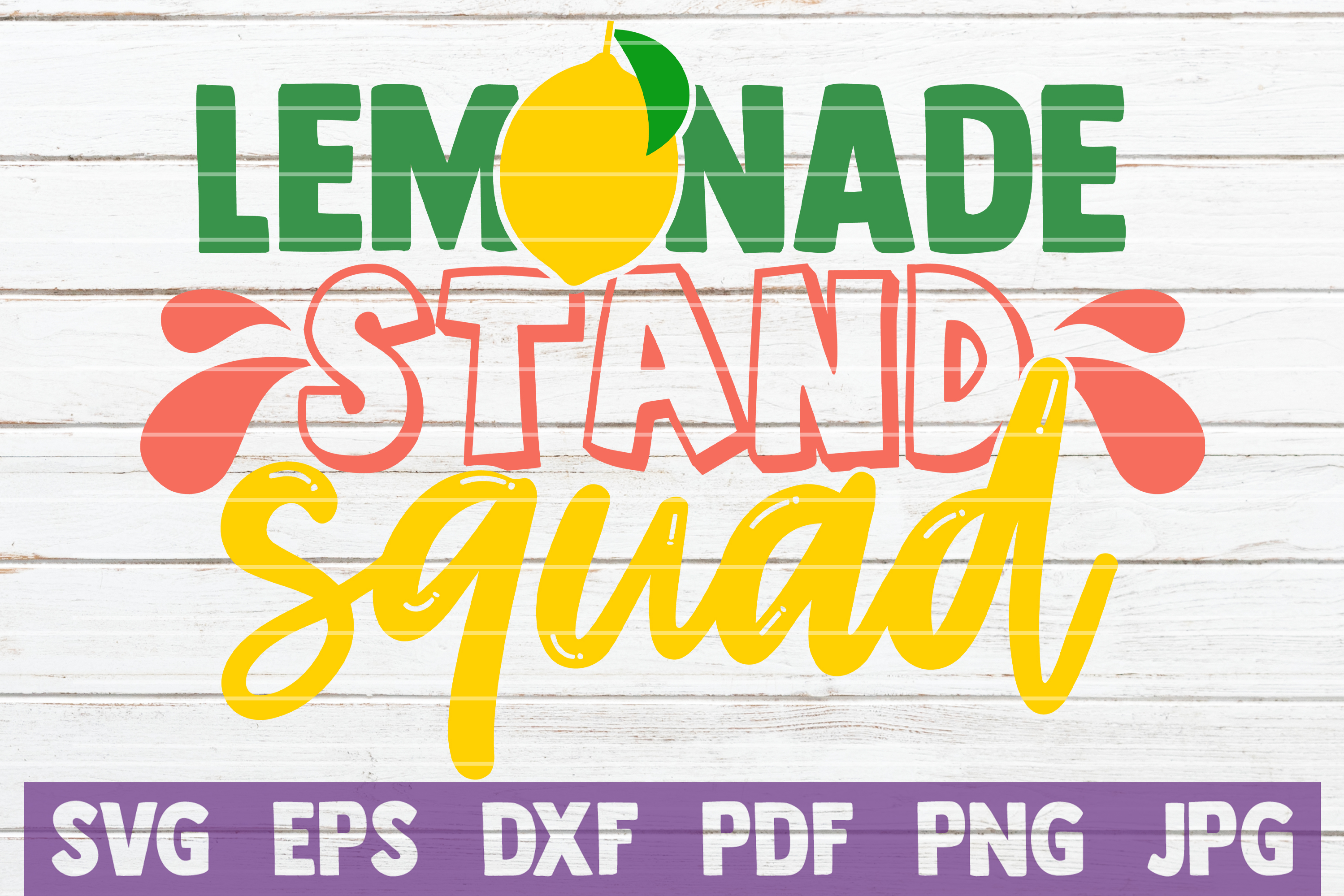 Lemonade Stand Squad Graphic By Mintymarshmallows Creative Fabrica