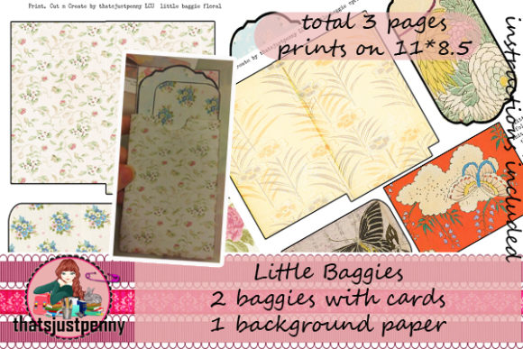 Little Baggies Print  Graphic Crafts By thatsjustpenny
