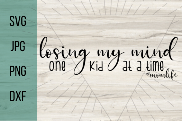 Print on Demand: Losing My Mind One Kid at a Time Graphic Crafts By Talia Smith