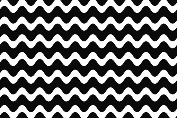 Monochrome Wave Pattern Graphic Patterns By davidzydd