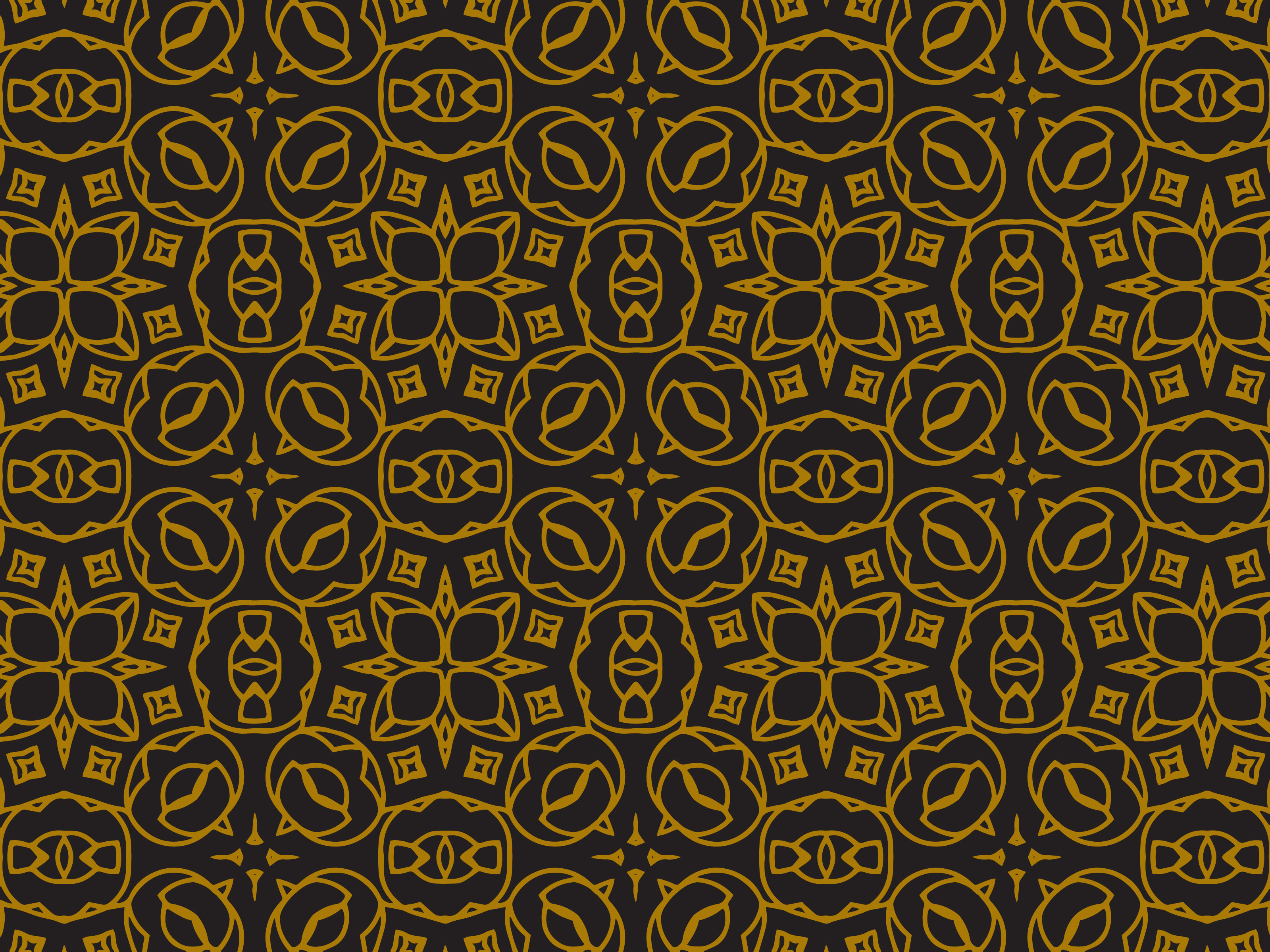 Download Free Pattern Gold Square Ornaments Graphic By Silkymilkycreative for Cricut Explore, Silhouette and other cutting machines.