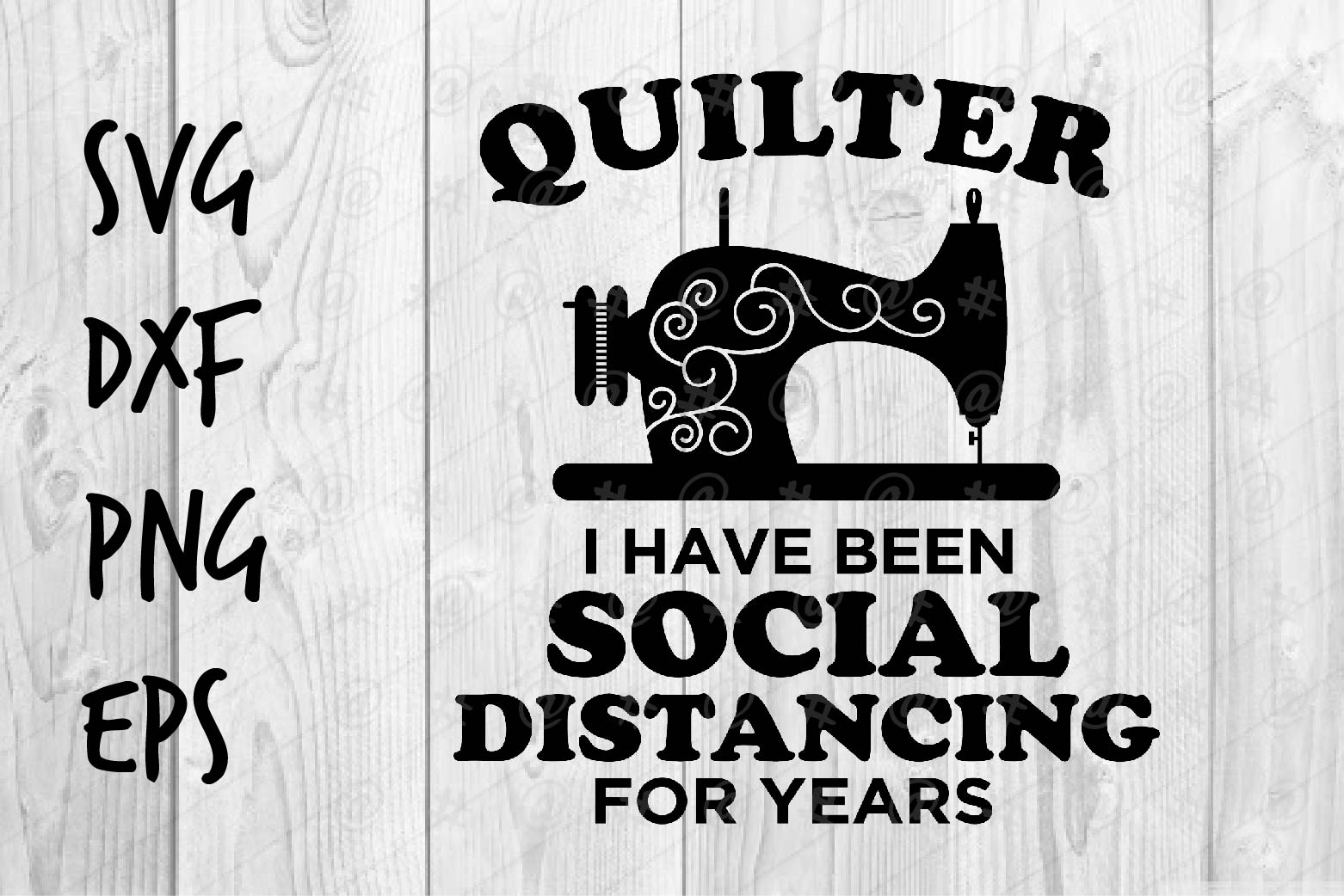 Download Free Quilter For Years Graphic By Spoonyprint Creative Fabrica for Cricut Explore, Silhouette and other cutting machines.