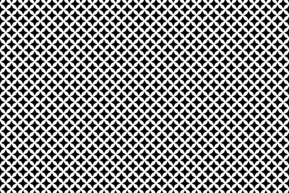 Download Free Seamless Black And White Pattern Graphic By Davidzydd Creative SVG Cut Files