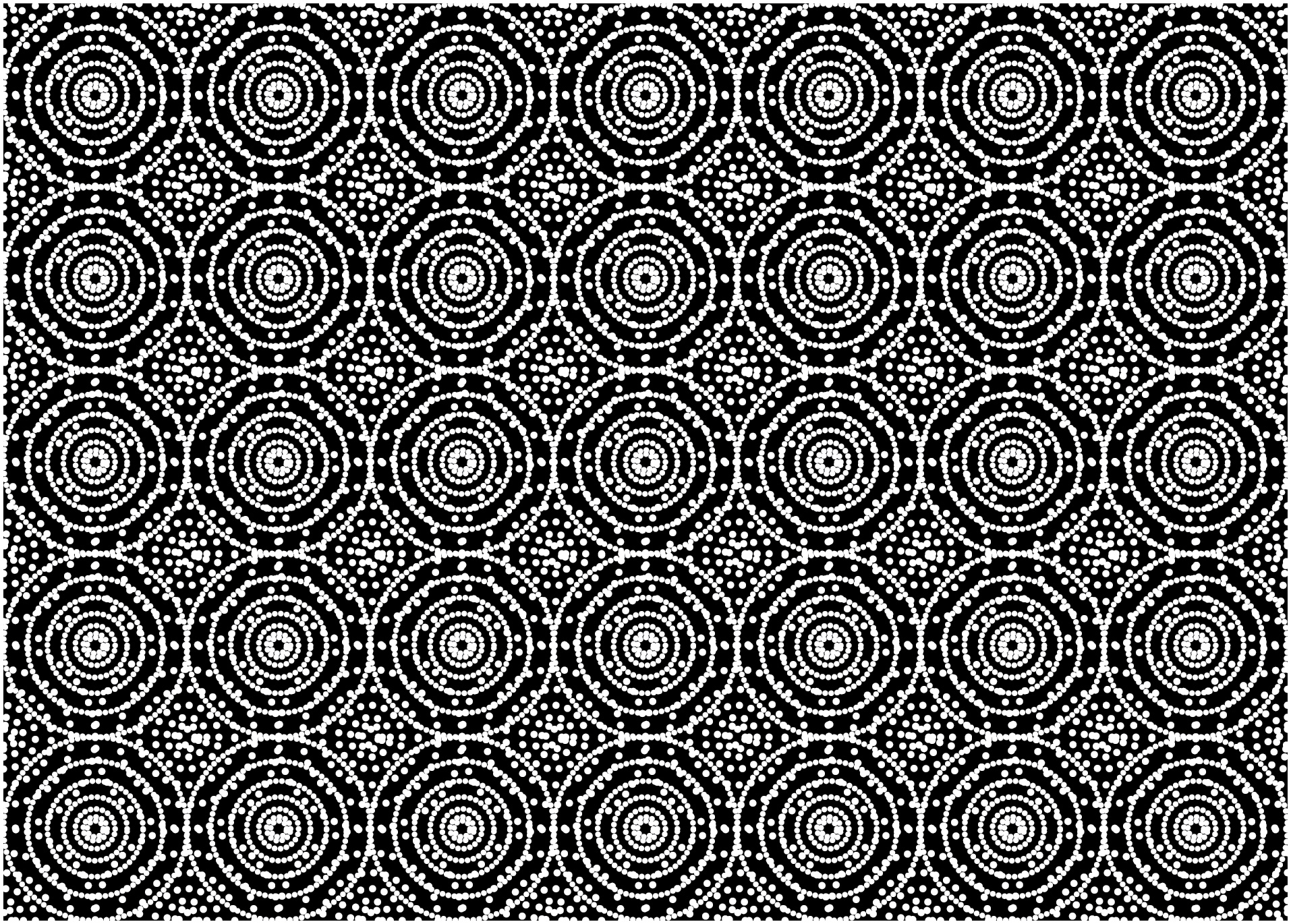 Download Free Seamless Of Multi Dots Round Pattern Graphic By Asesidea for Cricut Explore, Silhouette and other cutting machines.