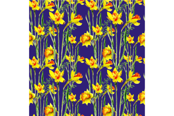 Seamless Spring Pattern Graphic By Kakva Creative Fabrica