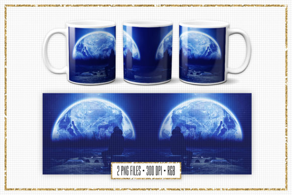 Download Free Sublimation Mug Design Space Collage Graphic By Sabina Leja for Cricut Explore, Silhouette and other cutting machines.