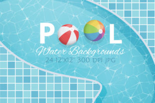 Swimming Pool Backgrounds Graphic Backgrounds By Dapper Dudell