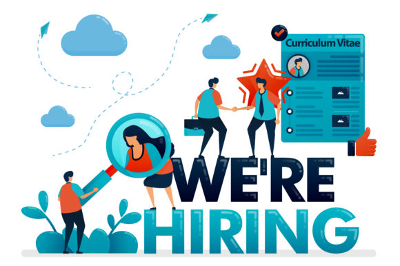 Download Free We Re Hiring To Apply For Job Graphic By Setiawanarief111 for Cricut Explore, Silhouette and other cutting machines.