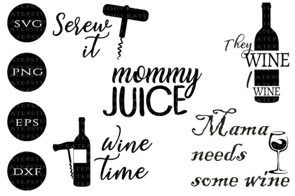 Wine Quotes Graphic By Kate Studio Creative Fabrica