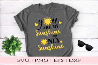 Download Free You Are My Sunshine Graphic By Kate Studio Creative Fabrica for Cricut Explore, Silhouette and other cutting machines.
