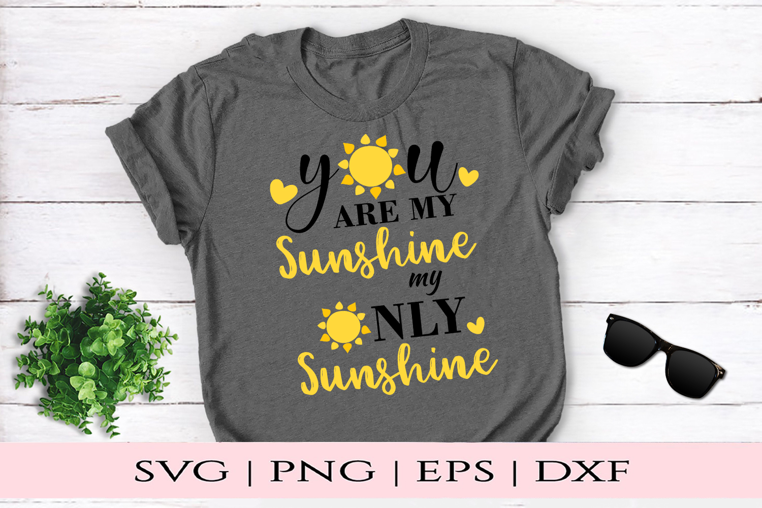 Download Free You Are My Sunshine Graphic By Kate Studio Creative Fabrica SVG Cut Files