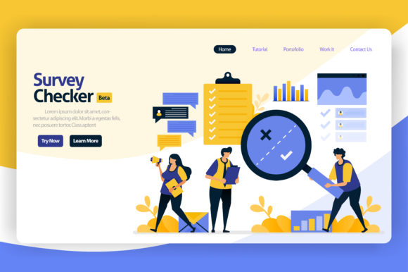 Download Free Design Illustration Of Survey Checkers Graphic By SVG Cut Files