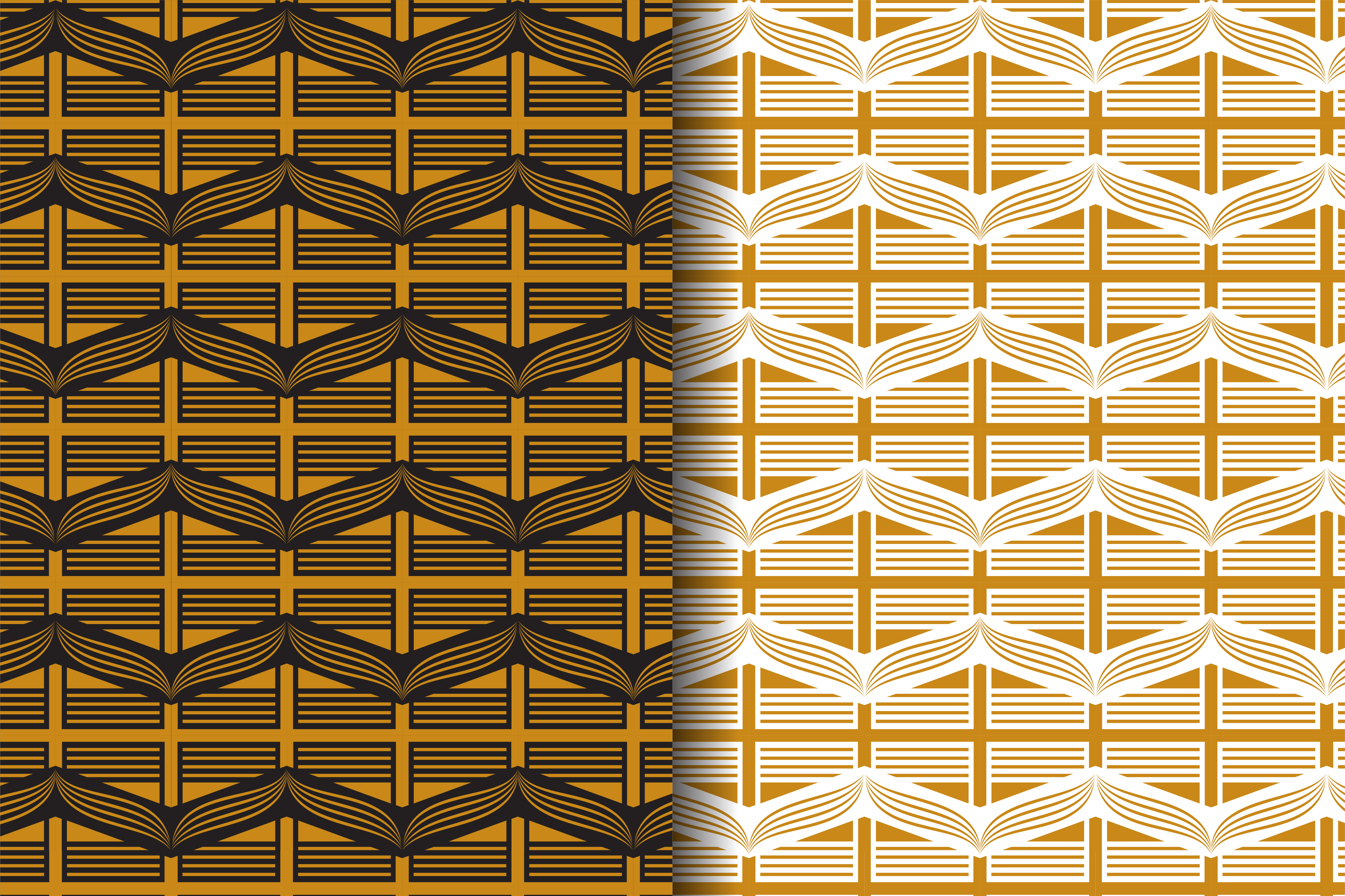 Download Free Gold Pattern Abstract Curve Line Graphic By Noory Shopper for Cricut Explore, Silhouette and other cutting machines.