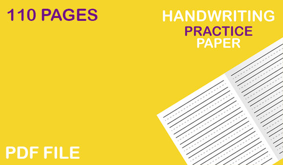 Print on Demand: Handwriting Practice Paper for Kids Graphic KDP Interiors By Mah Moud