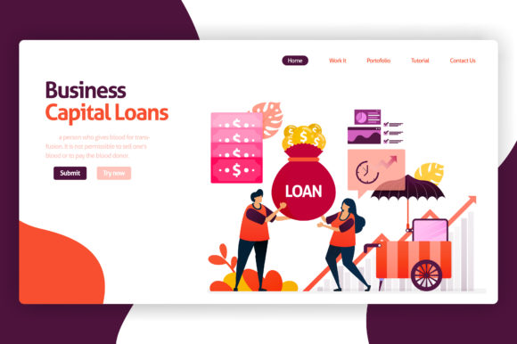 Illustration Of Venture Capital Loans Graphic By Setiawanarief111 Creative Fabrica