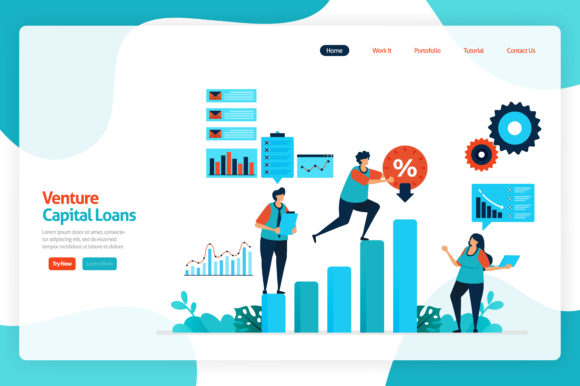 Download Free Illustration Of Venture Capital Loans Graphic By for Cricut Explore, Silhouette and other cutting machines.