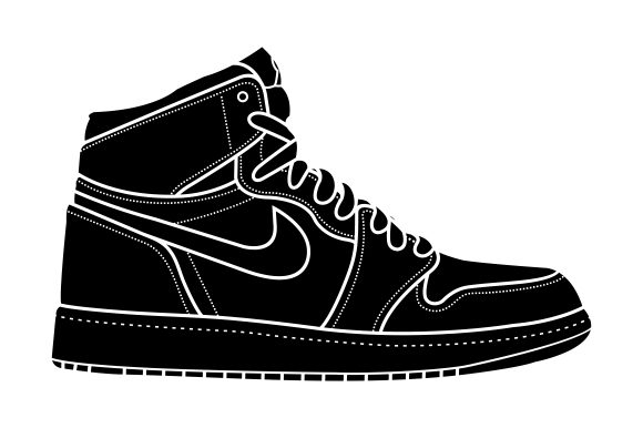 Download Free Shoes Vector Nike Graphic By Therintproject Creative Fabrica SVG Cut Files