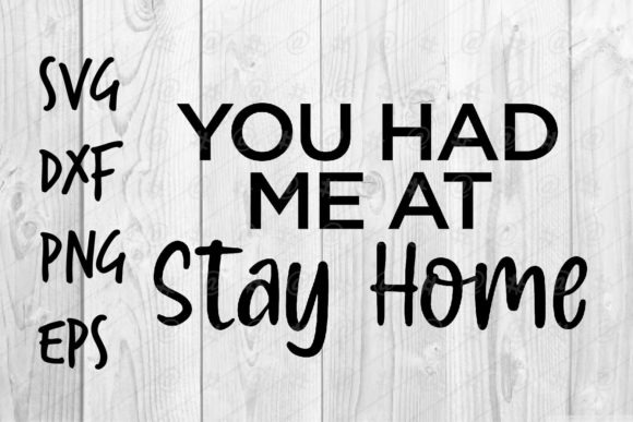 Print on Demand: Stay Home 02 Graphic Crafts By spoonyprint