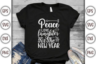 Print on Demand: 4th of July Design, Peace, Love Graphic Print Templates By GraphicsBooth