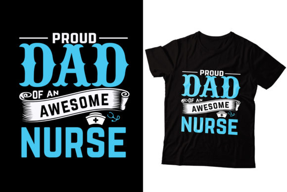 Dad T-shirt Design Graphic Print Templates By Storm Brain