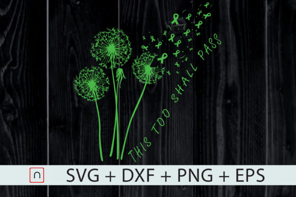 Download Free Dandelions Mental Heath Awareness Graphic By Novalia Creative for Cricut Explore, Silhouette and other cutting machines.