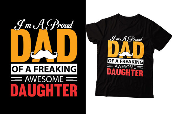 Daughter Graphic Print Templates By Storm Brain