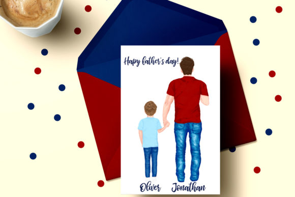 Father's Day Clipart Graphic Illustrations By LeCoqDesign - Image 5