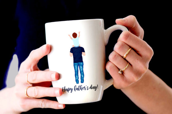 Father's Day Clipart Graphic Illustrations By LeCoqDesign - Image 7