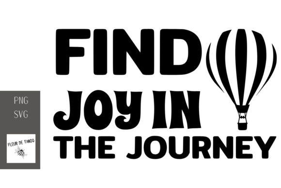 Print on Demand: Find Joy in the Journey 2 Graphic Print Templates By Fleur de Tango