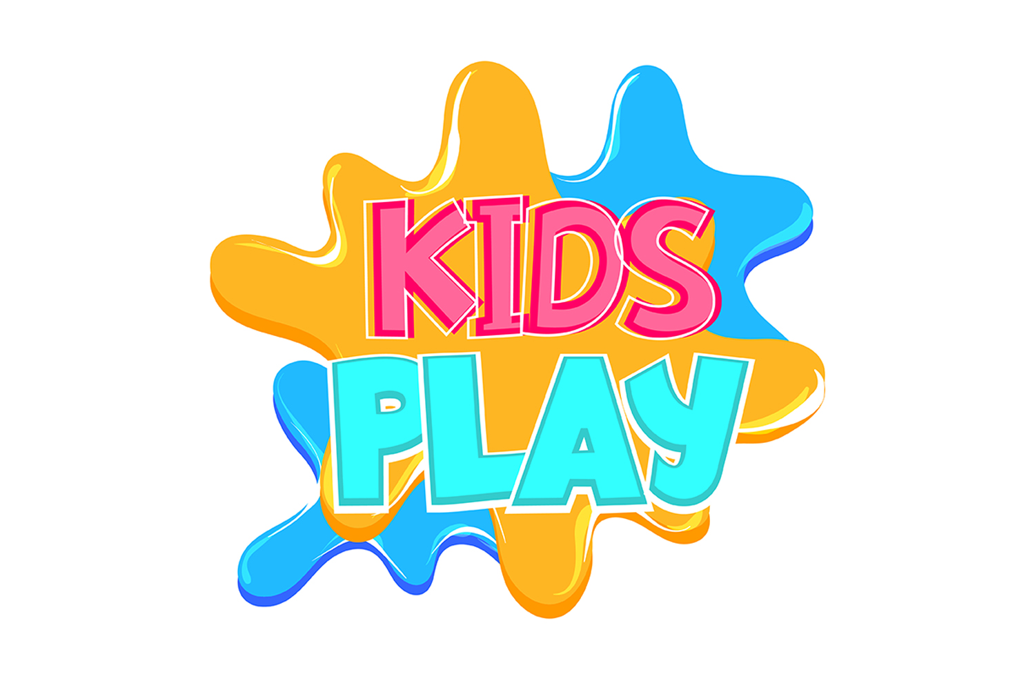 Download Free Kids Play Comic Text Badge Sticker Graphic By Kapitosh for Cricut Explore, Silhouette and other cutting machines.