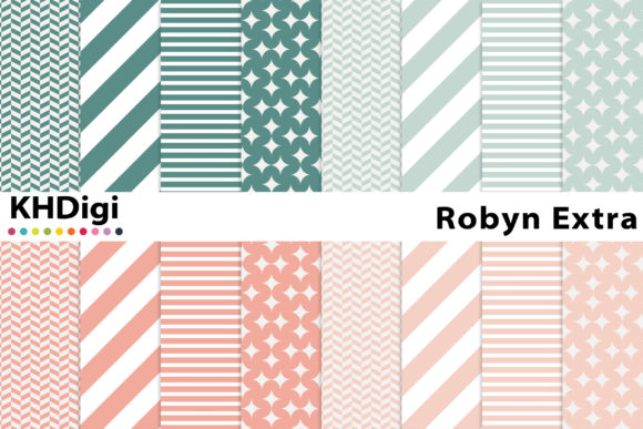 Download Free Everyday Essentials 2 Digital Paper Graphic By Khdigi Creative for Cricut Explore, Silhouette and other cutting machines.