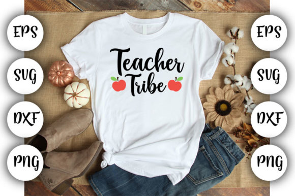 Download Free Teacher Teacher Tribe Graphic By Design Store Creative Fabrica SVG Cut Files