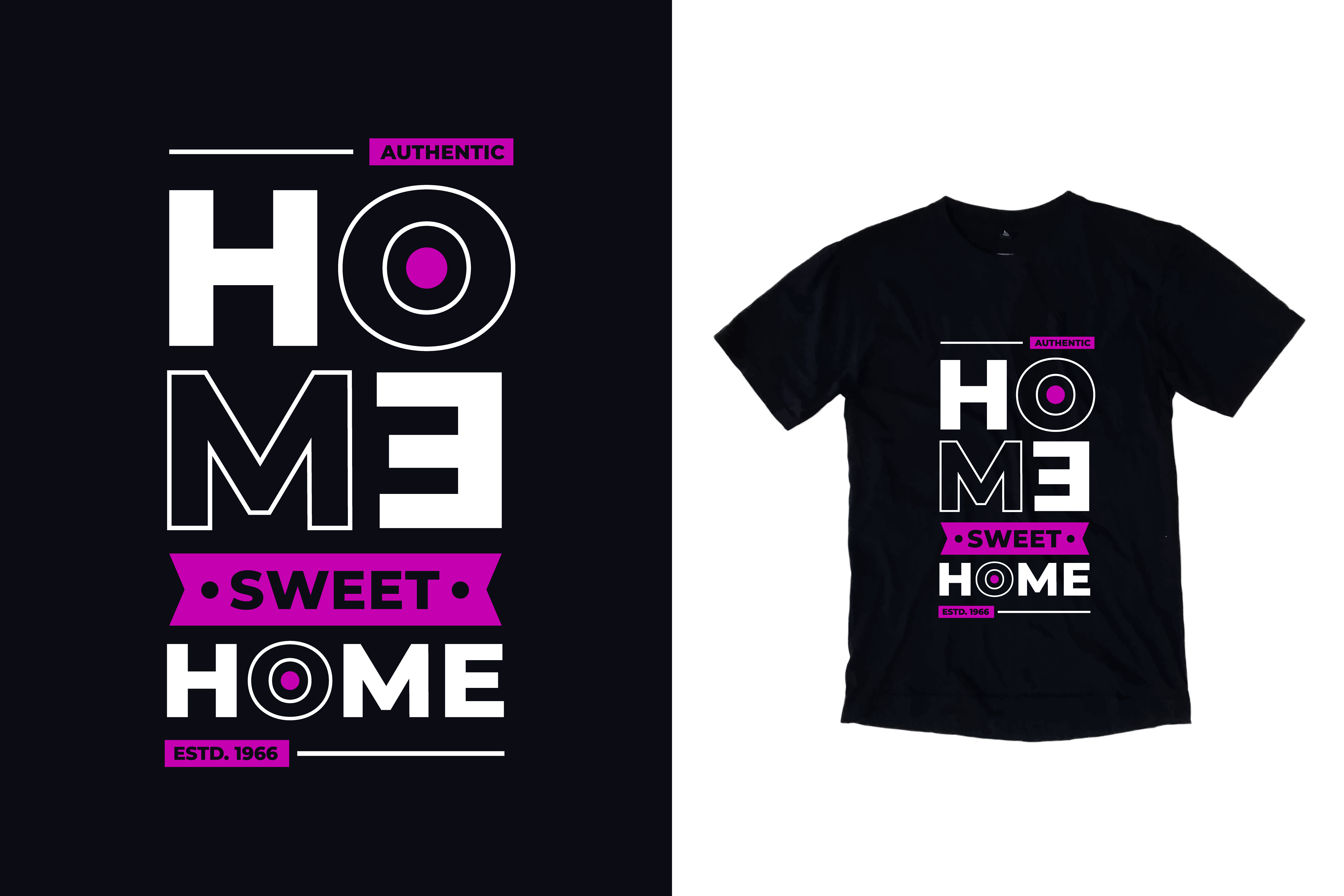 Download Free T Shirt Home Sweet Home Quotes Graphic By Yazriltri Creative for Cricut Explore, Silhouette and other cutting machines.