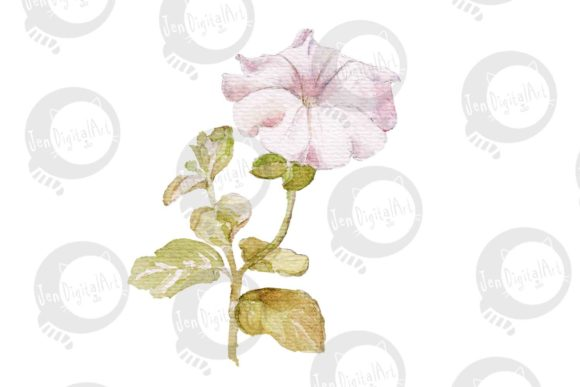 Watercolor Flowers Graphic Illustrations By Jen Digital Art - Image 3