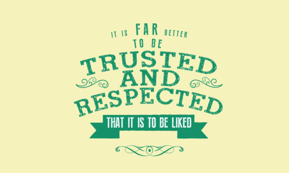 Download Free Better To Be Trusted Respected Graphic By Baraeiji Creative for Cricut Explore, Silhouette and other cutting machines.