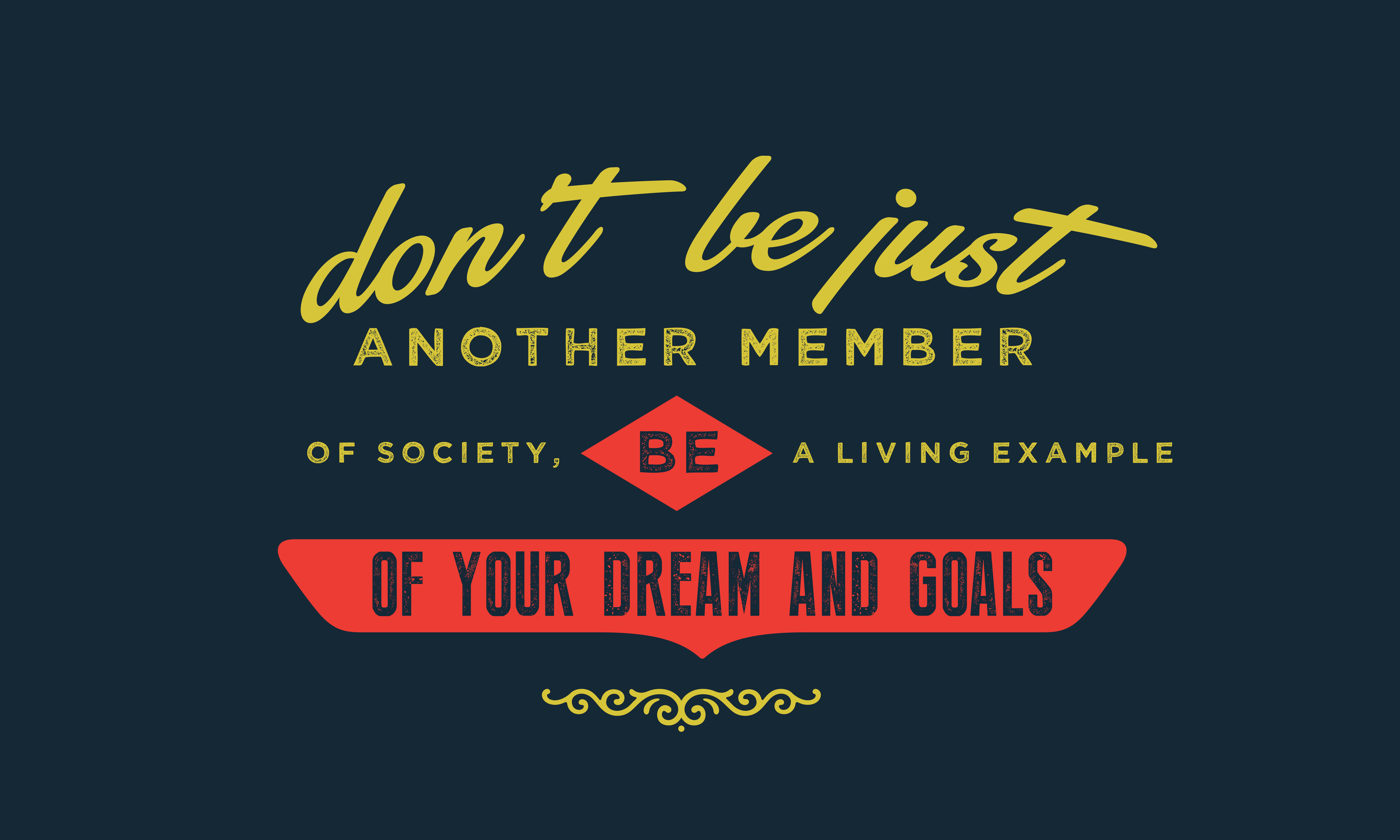 Download Free Your Dreams And Goals Graphic By Baraeiji Creative Fabrica for Cricut Explore, Silhouette and other cutting machines.