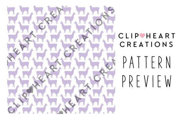 Download Free 100 Llama Pattern Digital Paper Graphic By Clipheartcreations for Cricut Explore, Silhouette and other cutting machines.