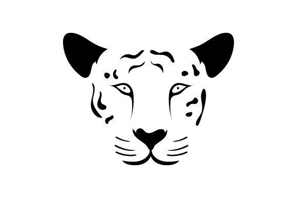 Floating Tiger Face Animals Craft Cut File By Creative Fabrica Crafts - Image 2