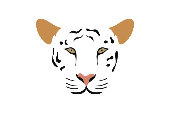 Download Free Floating Tiger Face Svg Cut File By Creative Fabrica Crafts for Cricut Explore, Silhouette and other cutting machines.