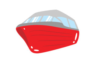 Red Boat Red Vehicles Craft Cut File By Creative Fabrica Crafts