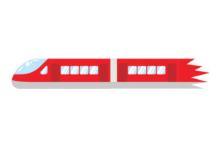 Red Train Red Vehicles Craft Cut File By Creative Fabrica Crafts