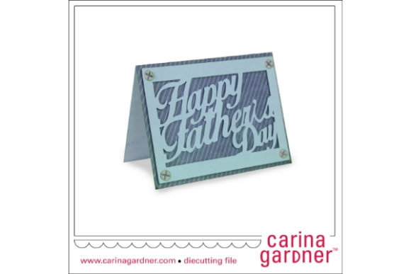 Download Free A2 Fathers Day Card Graphic By Carina2 Creative Fabrica for Cricut Explore, Silhouette and other cutting machines.
