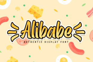 Print on Demand: Alibabe Display Font By almarkhatype