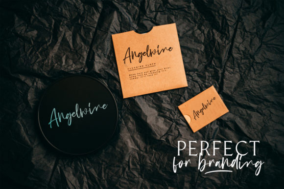 Download Free Angelwine Font By Stringlabs Creative Fabrica for Cricut Explore, Silhouette and other cutting machines.