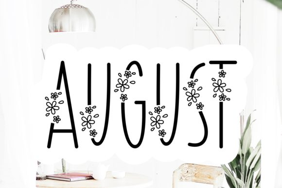Print on Demand: August Script & Handwritten Font By HansCo