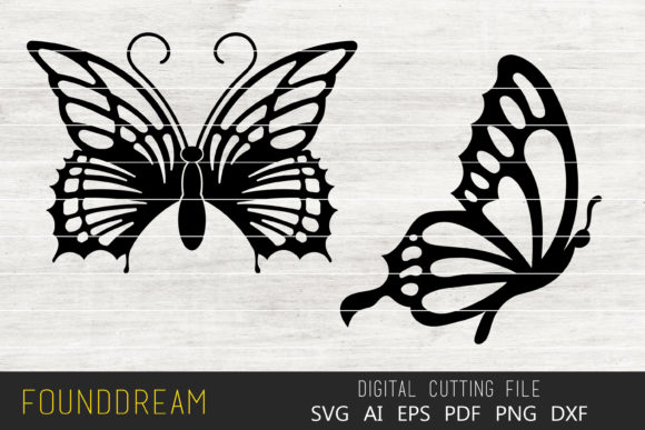 Print on Demand: Butterfly Files Graphic Crafts By FounDream