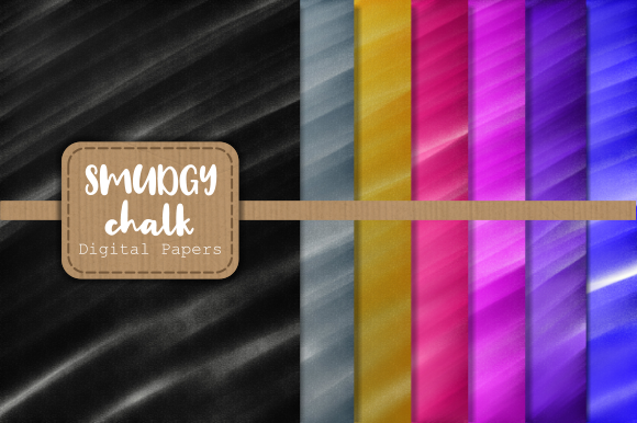 Download Free Chalk Smudge Digital Background Papers Graphic By Prawny Creative Fabrica for Cricut Explore, Silhouette and other cutting machines.