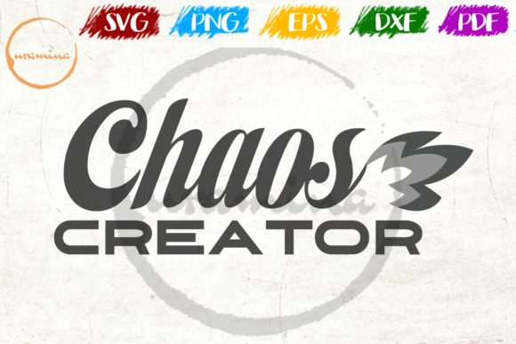 Download Free Chaos Creator Graphic By Uramina Creative Fabrica for Cricut Explore, Silhouette and other cutting machines.