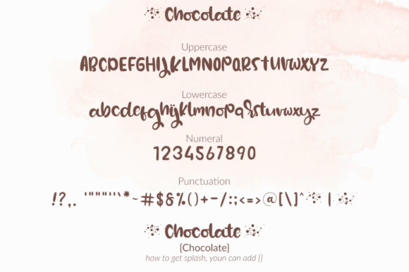 Download Free Chocolate Font By Markonahcreative Creative Fabrica for Cricut Explore, Silhouette and other cutting machines.